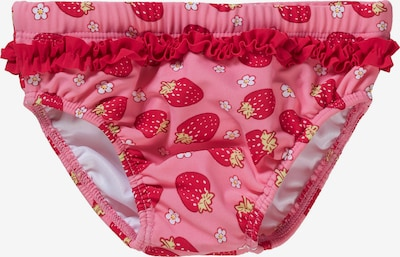 PLAYSHOES Swimsuit 'Erdbeeren' in Yellow / Pink / Red / White, Item view