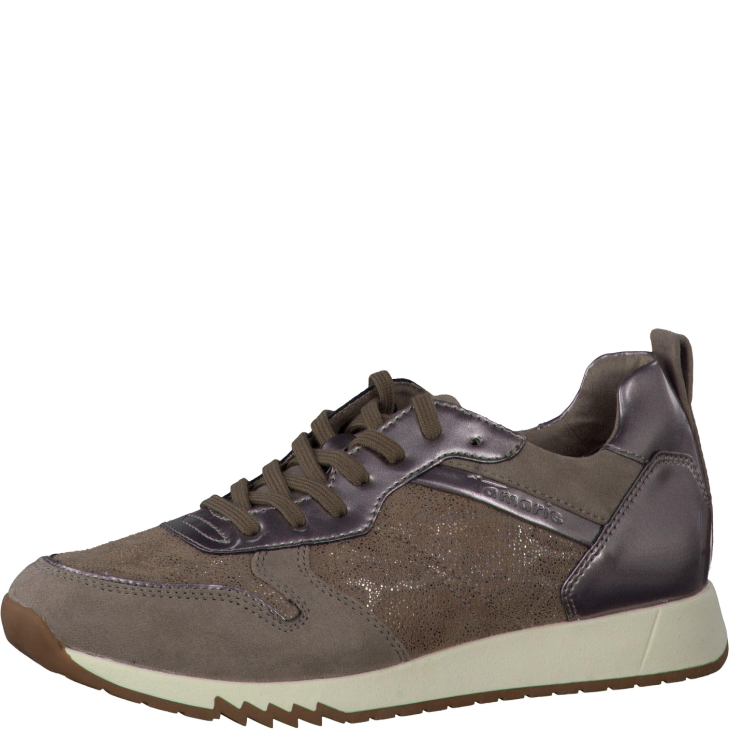 TAMARIS Sneaker mit Glanzpartien Verschleißfeste billige Schuhe