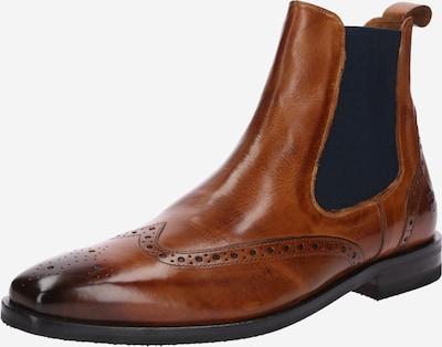 MELVIN & HAMILTON Chelsea Boots 'Alex 9' in nachtblau / braun, Produktansicht