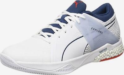 PUMA Handballschuh 'Explode EH 2' in blau / weiß, Produktansicht