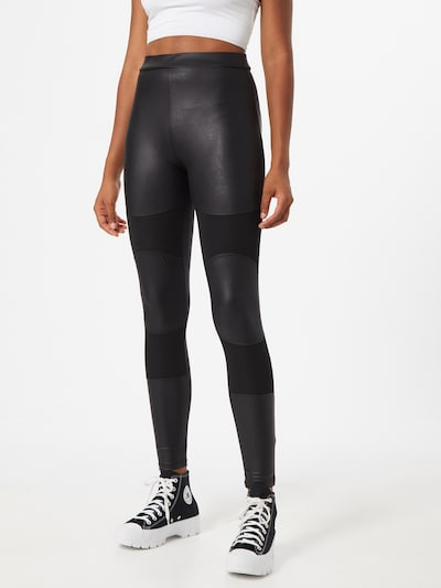 ONLY Leggings 'Maze' in schwarz, Modelansicht