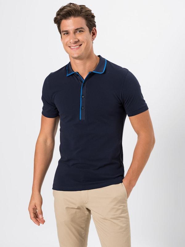 DRYKORN Poloshirt 'GARRY' in dunkelblau    Neuer Aktionsrabatt 8afbe2