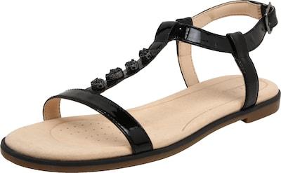 Sandales Avec Ceinture Noire Orabella Clarks 07ayX