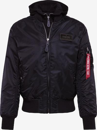 ALPHA INDUSTRIES Prechodná bunda - čierna, Produkt