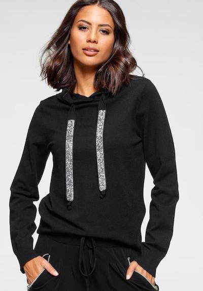 LAURA SCOTT Pullover in schwarz, Produktansicht