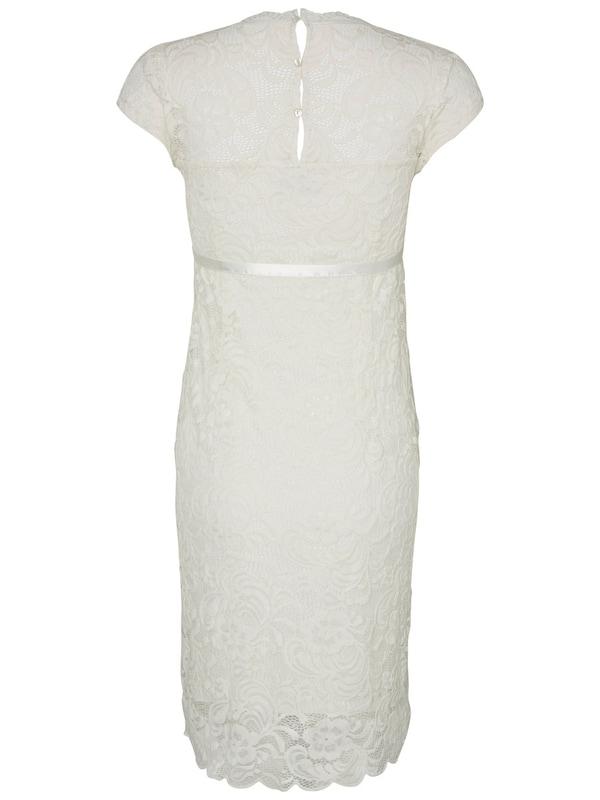 MAMALICIOUS Umstandskleid in weiß weiß weiß  Mode neue Kleidung e181c6