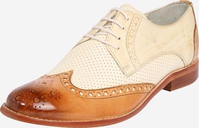 MELVIN & HAMILTON Chaussure à lacets 'Amelie' en beige / cognac / blanc, Vue avec produit