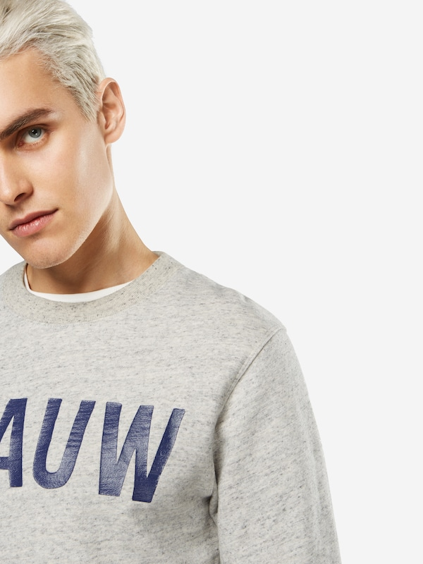 SCOTCH & SODA Sweatshirt 'Ams Blauw classic printed brand sweat'