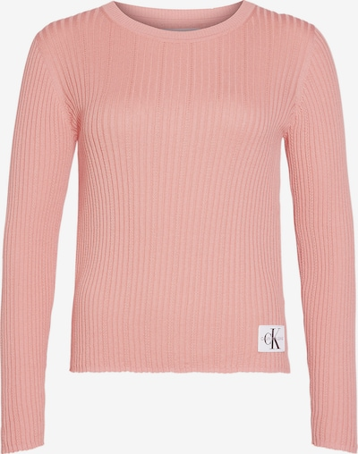 Calvin Klein Jeans Jumper 'Pointelle Rib' in altrosa, Produktansicht