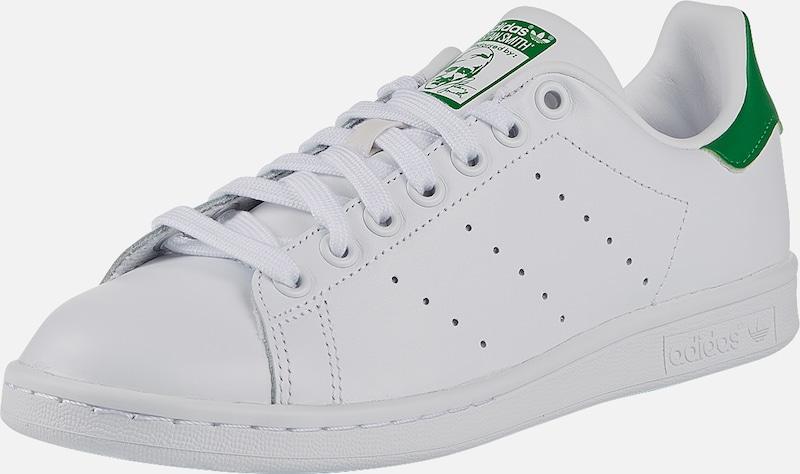 ADIDAS ORIGINALS Sneakers laag 'Stan Smith' in Groen / Wit ...