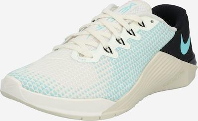 NIKE Schuhe 'Metcon 5' in grün / schwarz / eierschale, Produktansicht