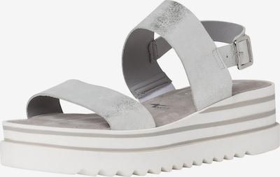 TAMARIS Sandale in silbergrau, Produktansicht