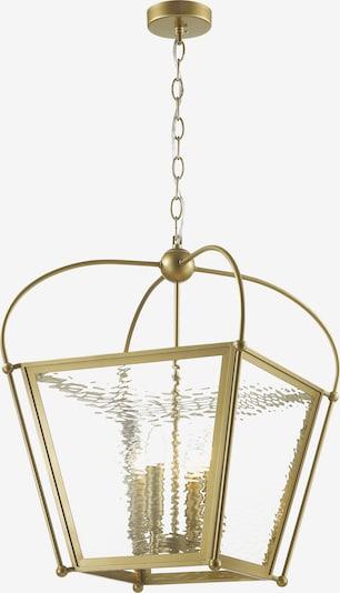 FAVOURITE Hängeleuchte 'Trapeze' in gold: Frontalansicht