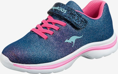 KangaROOS Sneakers Low 'Shine' in blau / pink, Produktansicht