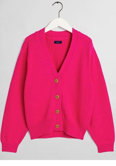 GANT Gant Strickjacke in pink, Produktansicht