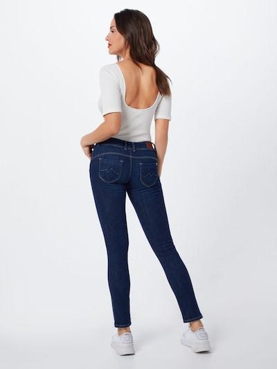 Pepe Jeans Jean 'NEW BROOKE' en bleu denim: Vue de dos