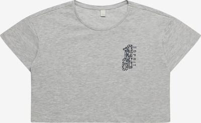 ESPRIT T-Shirt in marine / graumeliert, Produktansicht