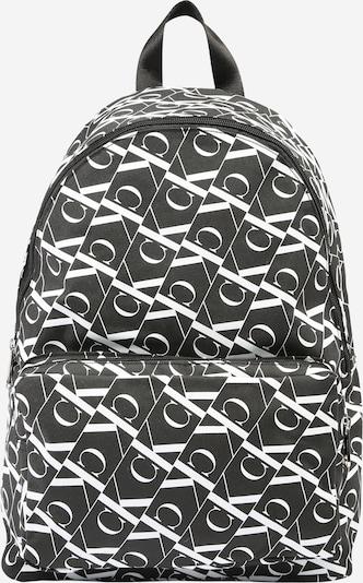 Calvin Klein Nahrbtnik | črna / bela barva, Prikaz izdelka