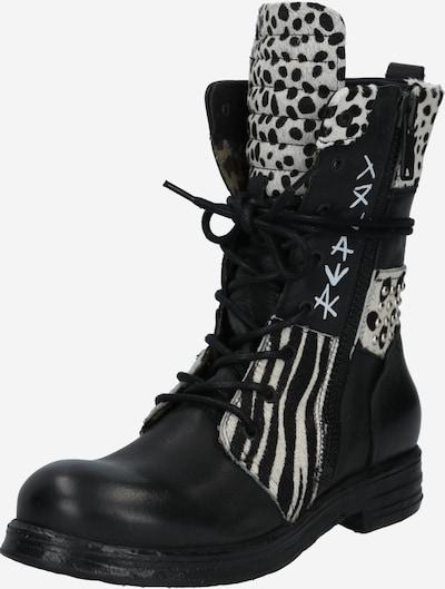 REPLAY Stiefel 'Tips' in schwarz / weiß, Produktansicht