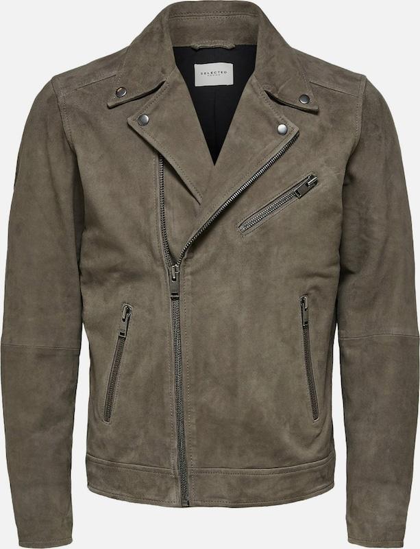 SELECTED HOMME Jacke in khaki  Große Preissenkung