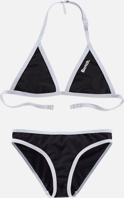 BENCH Triangel-Bikini in schwarz, Produktansicht