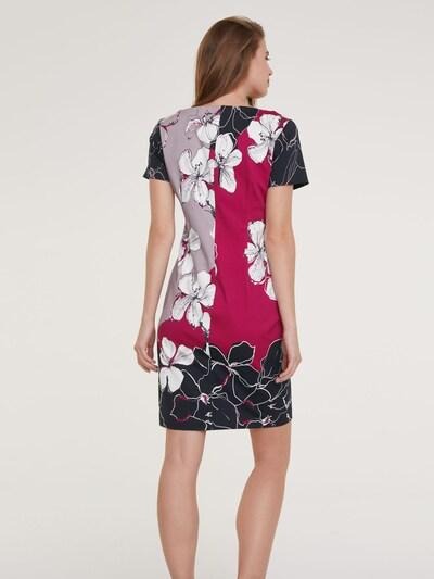 Trumpa kokteilinė suknelė iš heine , spalva - mišrios spalvos: Vaizdas iš galinės pusės