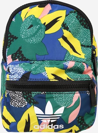 ADIDAS ORIGINALS Rucksack in blau / grün, Produktansicht