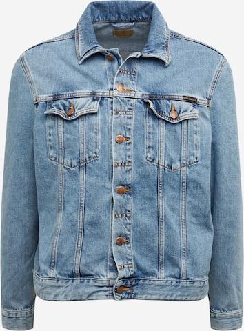Nudie Jeans Co Between-Season Jacket 'Jerry' in Blue