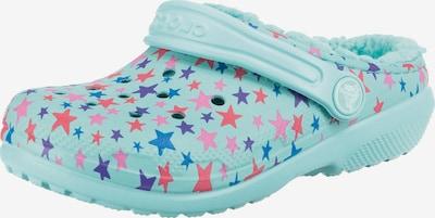 Crocs Clogs in blau / türkis, Produktansicht