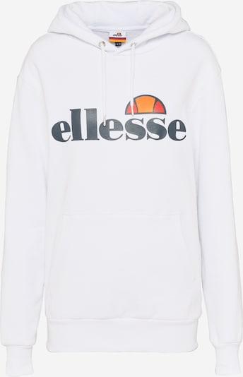 ELLESSE Sweatshirt 'Torices' in marine blue / Orange / Light red / White, Item view