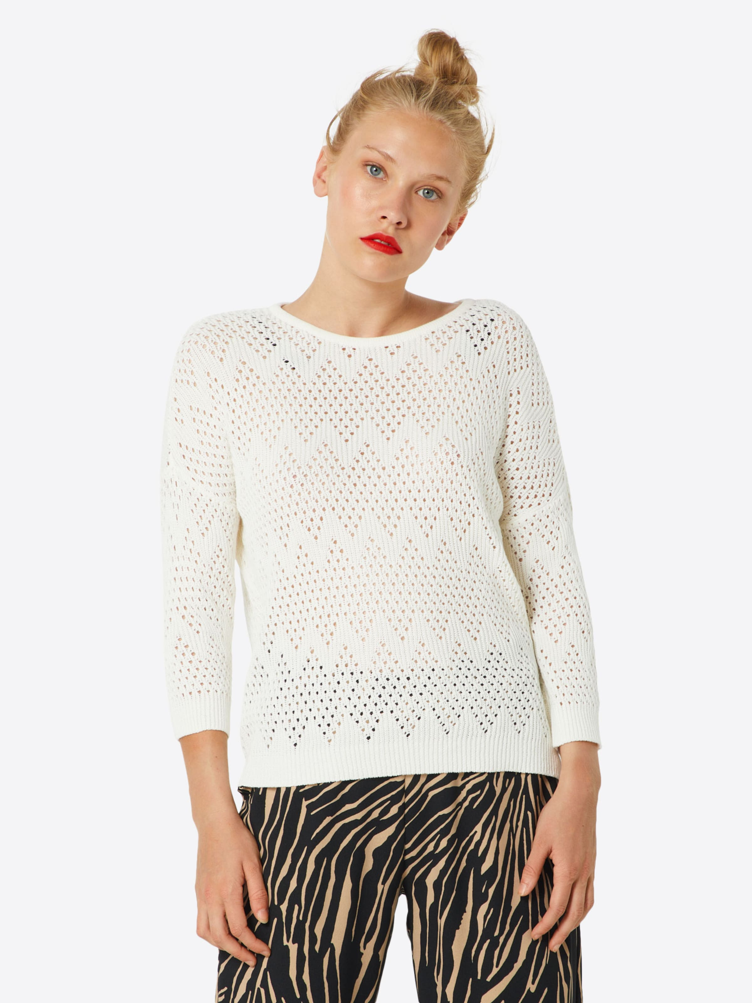 In Weiß Object Pullover In Object Weiß Pullover Object uFK1lcTJ3