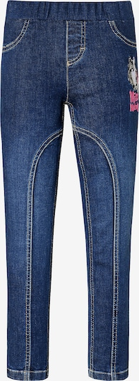 Miss Melody Jeggings in blue denim, Produktansicht