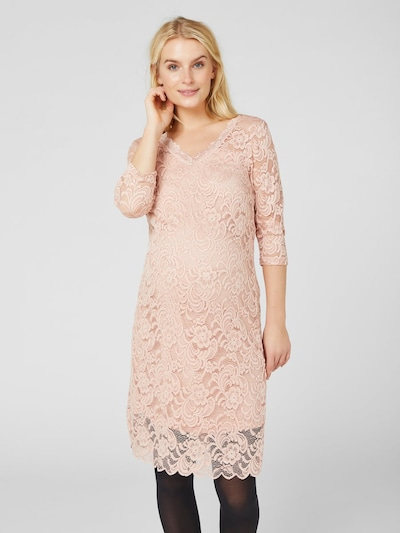 MAMALICIOUS Kleid in rosa, Modelansicht
