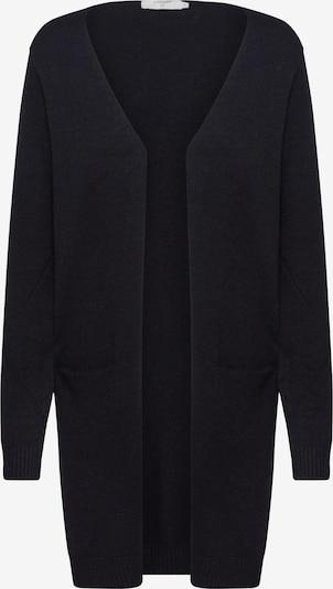 Cream Gebreid vest 'KaitlynCR' in de kleur Zwart, Productweergave
