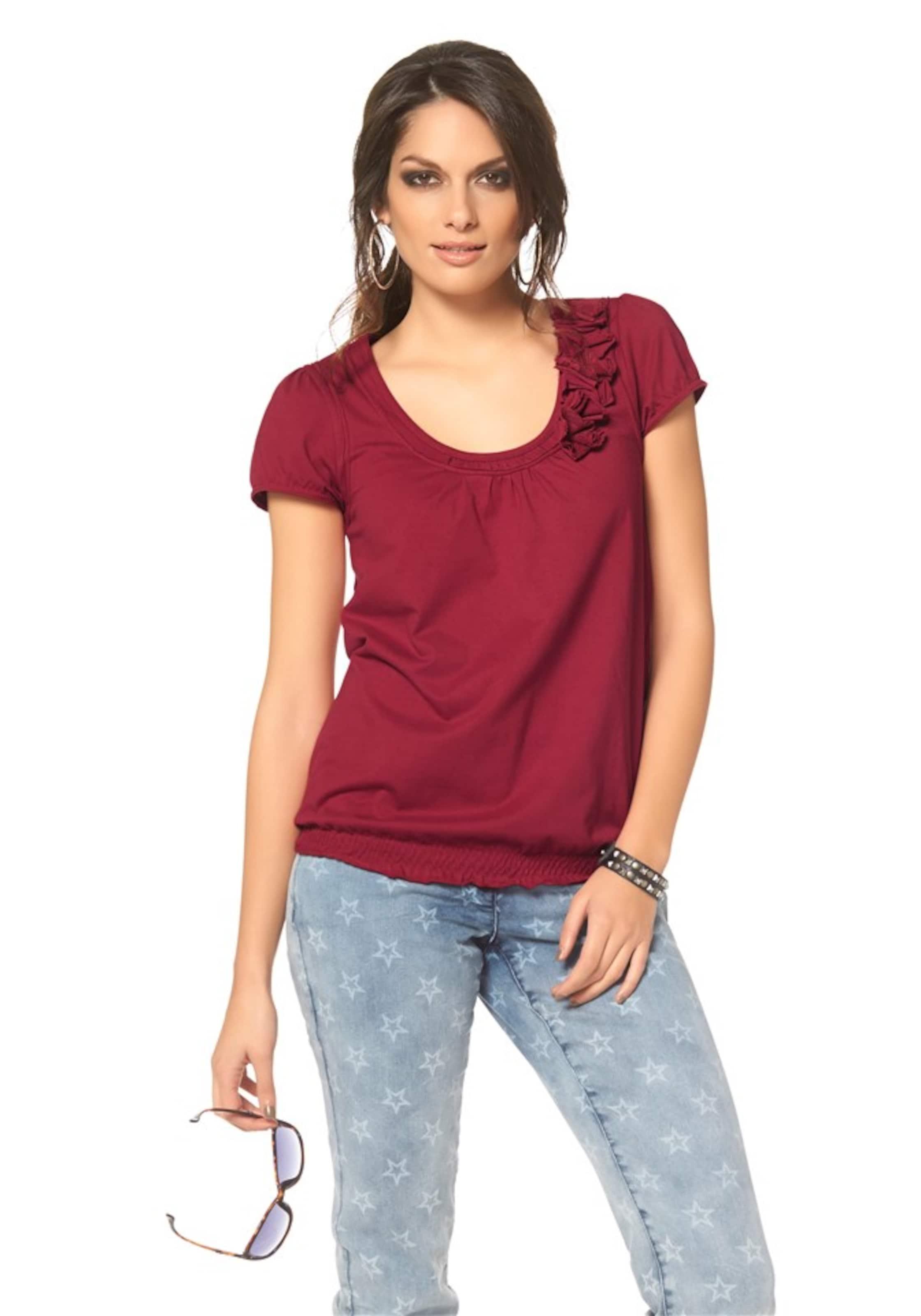 In Shirt Shirt Rot In Aniston Aniston Aniston Shirt Rot TOPulkiwXZ