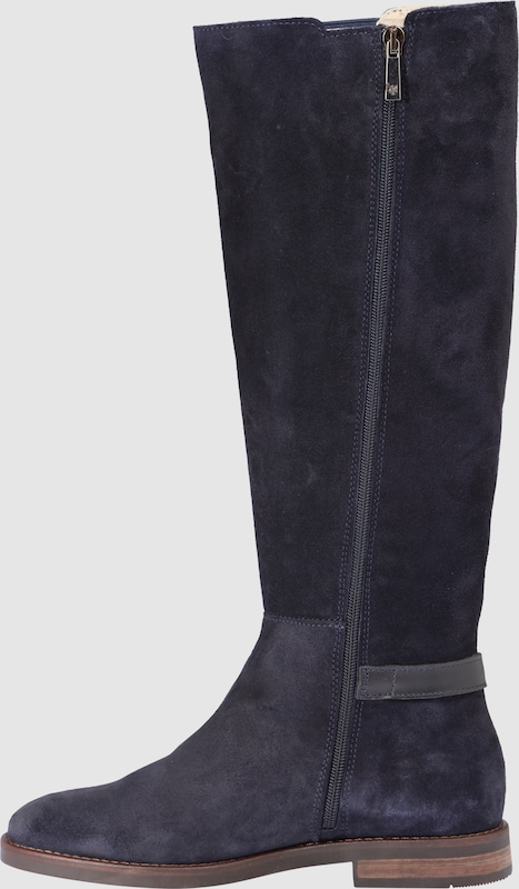 Marc Opolo Long Shaft Boots With Side Stretch Insert