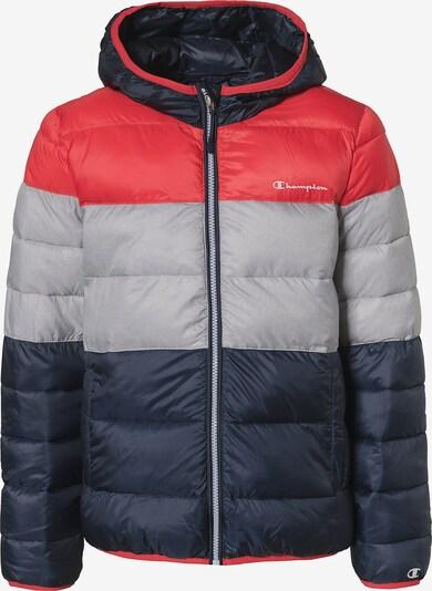 Champion Authentic Athletic Apparel Winterjacke in nachtblau / grau / rot, Produktansicht