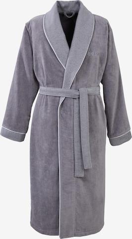BOSS Home Bathrobe in Grey