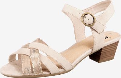 JANA Sandalette in beige / gold, Produktansicht