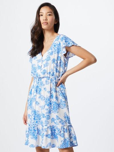 JACQUELINE de YONG Sukienka 'JDYSTARR' w kolorze niebieski / białym: Widok z przodu