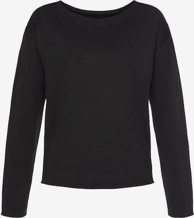 LASCANA Sweatshirt in schwarz, Produktansicht
