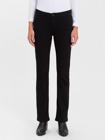 Cross Jeans Jeans ' Lauren ' in schwarz, Modelansicht