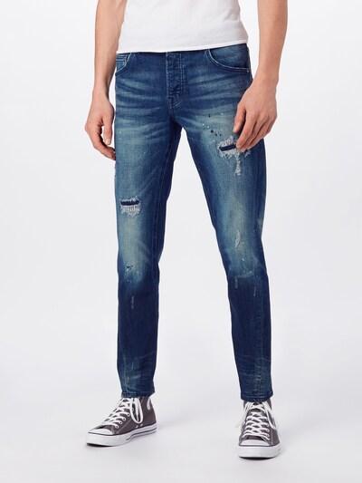 Jeans 'Billy the kid 9869 repaired' tigha pe denim albastru, Vizualizare model