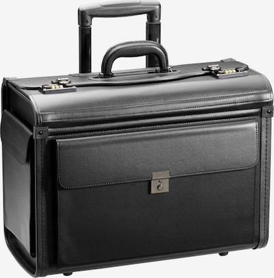D&N Pilotenkoffer in schwarz, Produktansicht