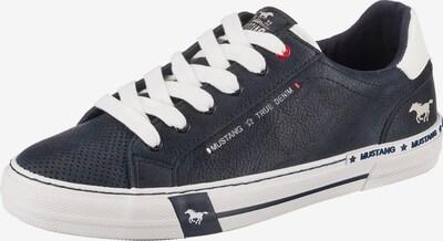MUSTANG Sneakers Low in dunkelblau, Produktansicht