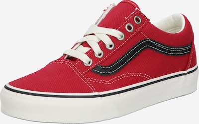 VANS Sneaker low 'Old Skool' i rød / sort, Produktvisning