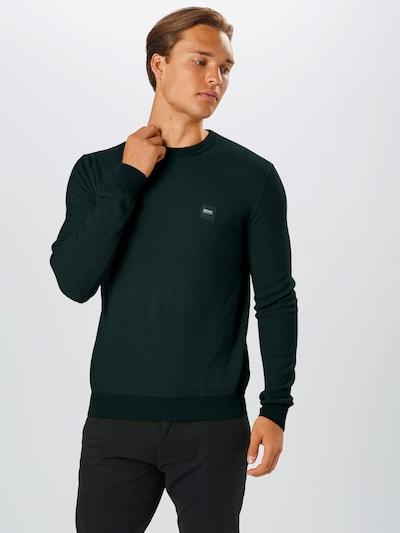 BOSS Sweter 'Kollege' w kolorze jodłam: Widok z przodu