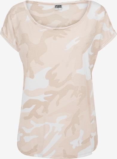 fáradt rózsaszín / fehér Urban Classics Póló, Termék nézet