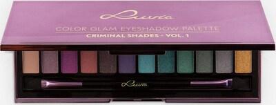 Luvia Cosmetics 'Criminal Shades Vol.1', Vegane Lidschattenpalette in grün / helllila / mischfarben, Produktansicht