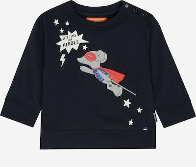 STACCATO Sweatshirt in anthrazit / mischfarben: Frontalansicht